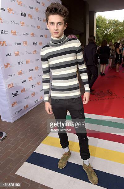 Actor Timothée Chalamet attend the Gala Screening of Paramount Pictures' 'MEN WOMEN CHILDREN' during the 2014 Toronto International Film Festival at...