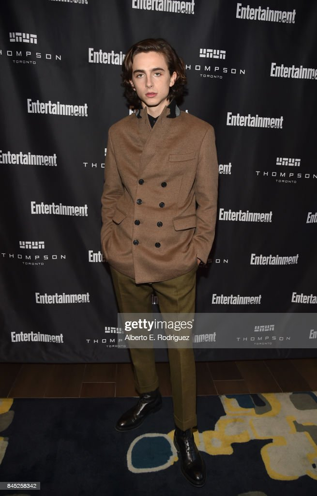 Actor Timothee Chalamet attends Entertainment Weekly's Must List Party during the Toronto International Film Festival 2017 at the Thompson Hotel on September 9, 2017 in Toronto, Canada.