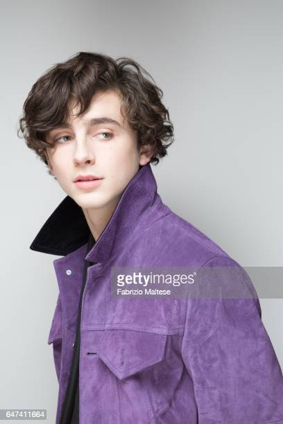 Actor Timothee Chalamet is photographed for The Hollywood Reporter on February 13 2017 in Berlin Germany
