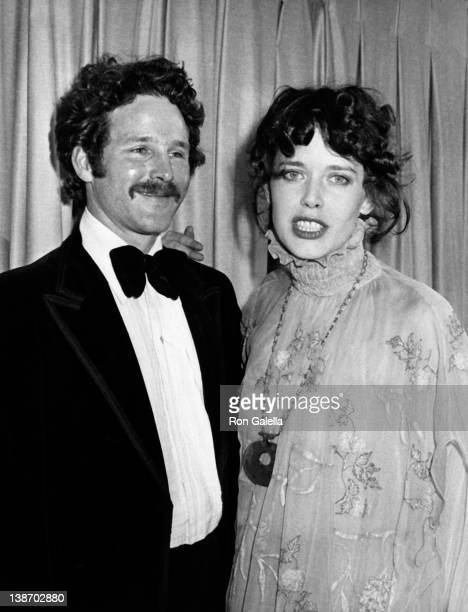 Actor Timothy Bottoms and actress Sylvia Kristel attend 36th Annual Golden Globe Awards on January 27 1979 at the Beverly Hilton Hotel in Beverly...