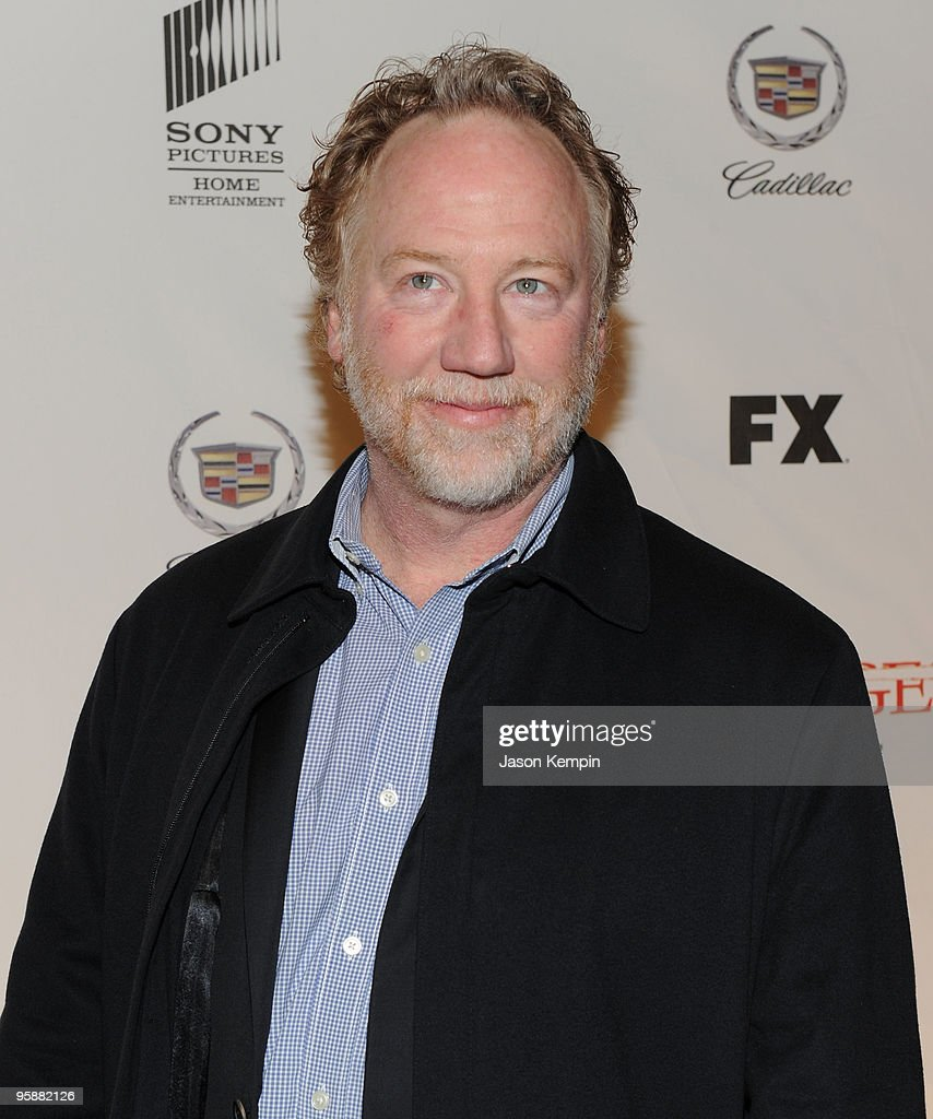 Actor Timothy Busfield attends the Season 3 premiere of 'Damages' at the AXA Equitable Center on January 19, 2010 in New York City.