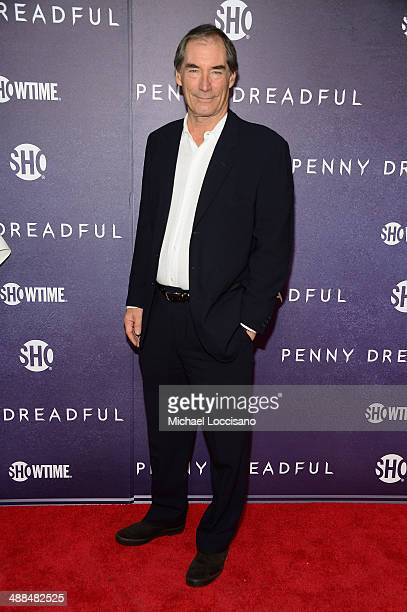 Actor Timothy Dalton arrives at Showtime's 'PENNY DREADFUL' world premiere at The High Line Hotel on May 6 2014 in New York City