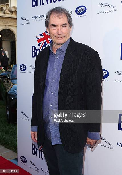 Actor Timothy Dalton attends the 7th annual BritWeek Festival 'A Salute To Old Hollywood' launch party at the British Consul General's Residence on...