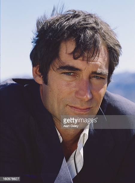 Actor Timothy Dalton on location in northwestern Mexico for the filming of the James Bond 007 movie 'Licence to Kill' in 1988 It was Dalton's second...