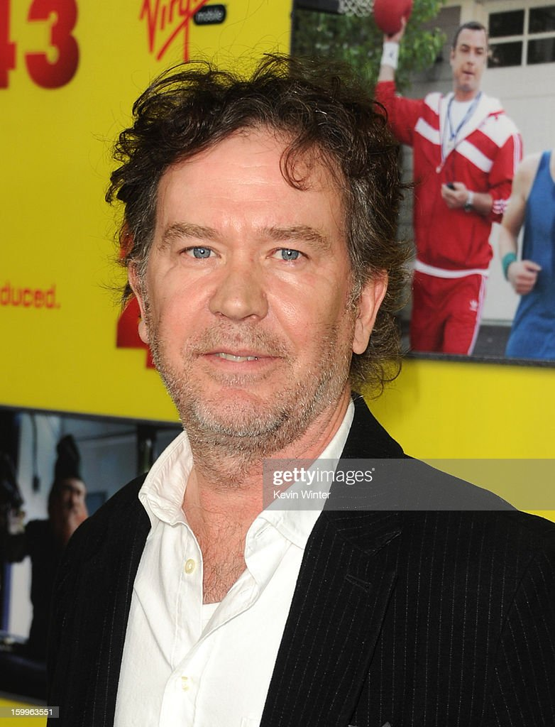 Actor <a gi-track='captionPersonalityLinkClicked' href=/galleries/search?phrase=Timothy+Hutton&family=editorial&specificpeople=743801 ng-click='$event.stopPropagation()'>Timothy Hutton</a> attends the premiere of Relativity Media's 'Movie 43' at TCL Chinese Theatre on January 23, 2013 in Hollywood, California.