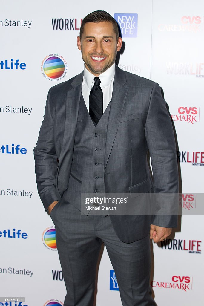 Actor Timothy Mandala attends the 11th Annual Work Life Matters gala at Club 101 on October 24, 2013 in New York City.