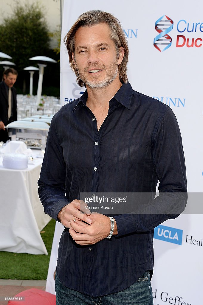 Actor <a gi-track='captionPersonalityLinkClicked' href=/galleries/search?phrase=Timothy+Olyphant&family=editorial&specificpeople=589275 ng-click='$event.stopPropagation()'>Timothy Olyphant</a> attends the 6th Annual Dealing For Duchenne Charity Poker Tournament at Sony Pictures Studios on May 11, 2013 in Culver City, California.
