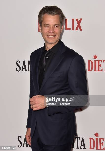 Actor Timothy Olyphant attends the premiere Netflix's 'Santa Clarita Diet' at ArcLight Cinemas Cinerama Dome on February 1 2017 in Hollywood...