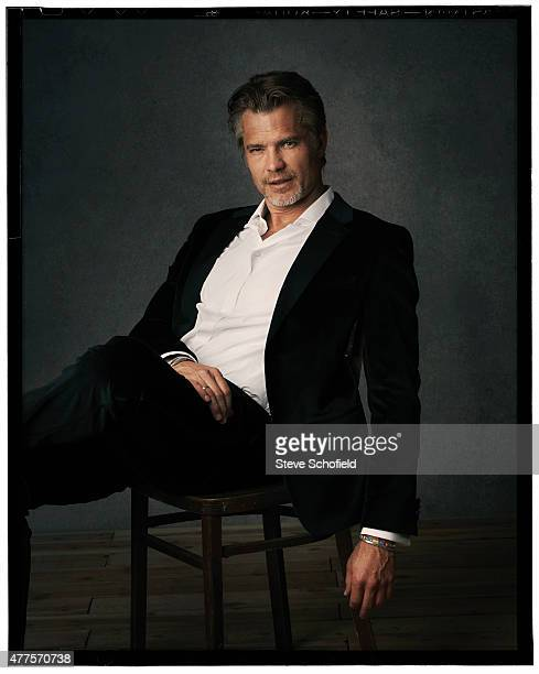 Actor Timothy Olyphant is photographed for Emmy magazine on December 1 2014 in Los Angeles California