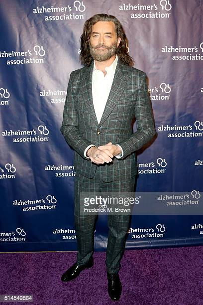 Actor Timothy Omundson attends the 24th and final 'A Night at Sardi's' to benefit the Alzheimer's Association at The Beverly Hilton Hotel on March 9...