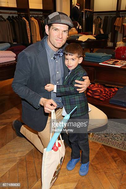 Actor Timothy Simons attends Brooks Brothers holiday celebration with St Jude Children's Research Hospital on December 3 2016 in Beverly Hills...
