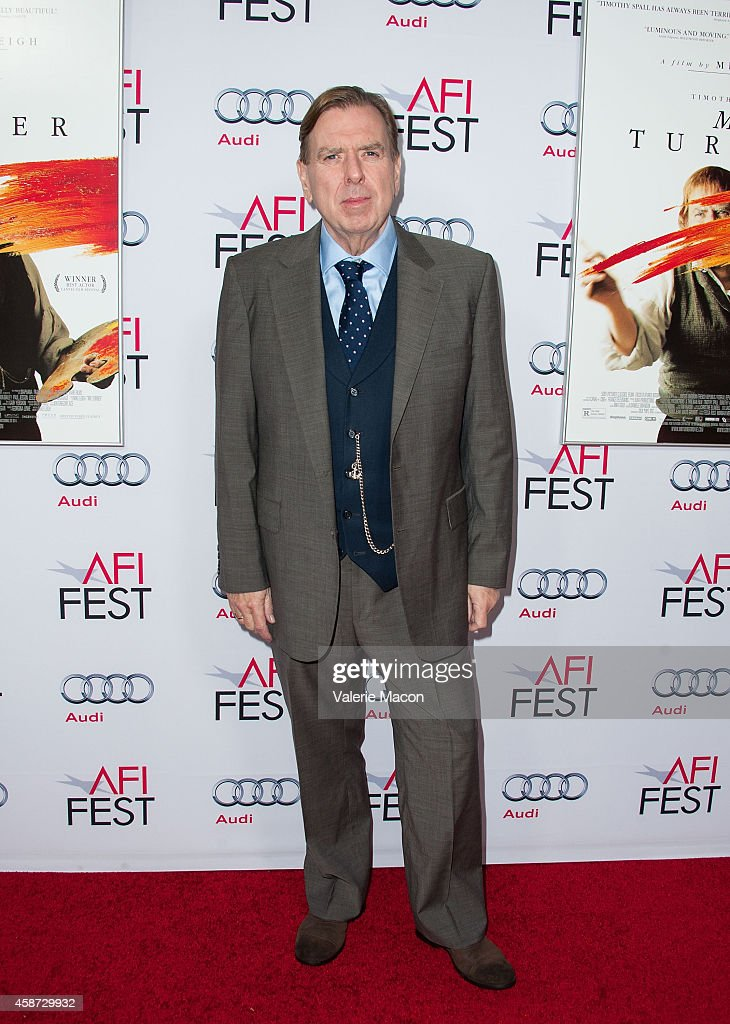 "AFI FEST 2014 Presented By Audi Special Screening Of ""Mr. Turner"" - Arrivals"