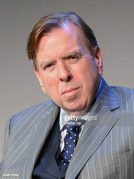Actor Timothy Spall attends Apple Store Soho Presents Mike Leigh and Timothy Spall 'Mr Turner' at Apple Store Soho on December 1 2014 in New York City