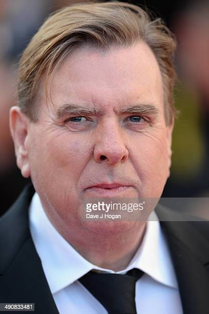 Actor Timothy Spall attends the 'Mr Turner' premiere during the 67th Annual Cannes Film Festival on May 15 2014 in Cannes France
