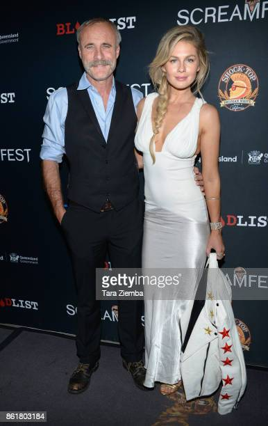 Actor Timothy V Murphy and Caitlin Manley attend the 2017 Screamfest Horror Film Festival at TCL Chinese 6 Theatres on October 15 2017 in Hollywood...