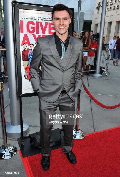 Actor Timothy Woodward Jr arrives at the Screening of Magnolia Pictures' 'I Give It A Year' at ArcLight Hollywood on August 1 2013 in Hollywood...