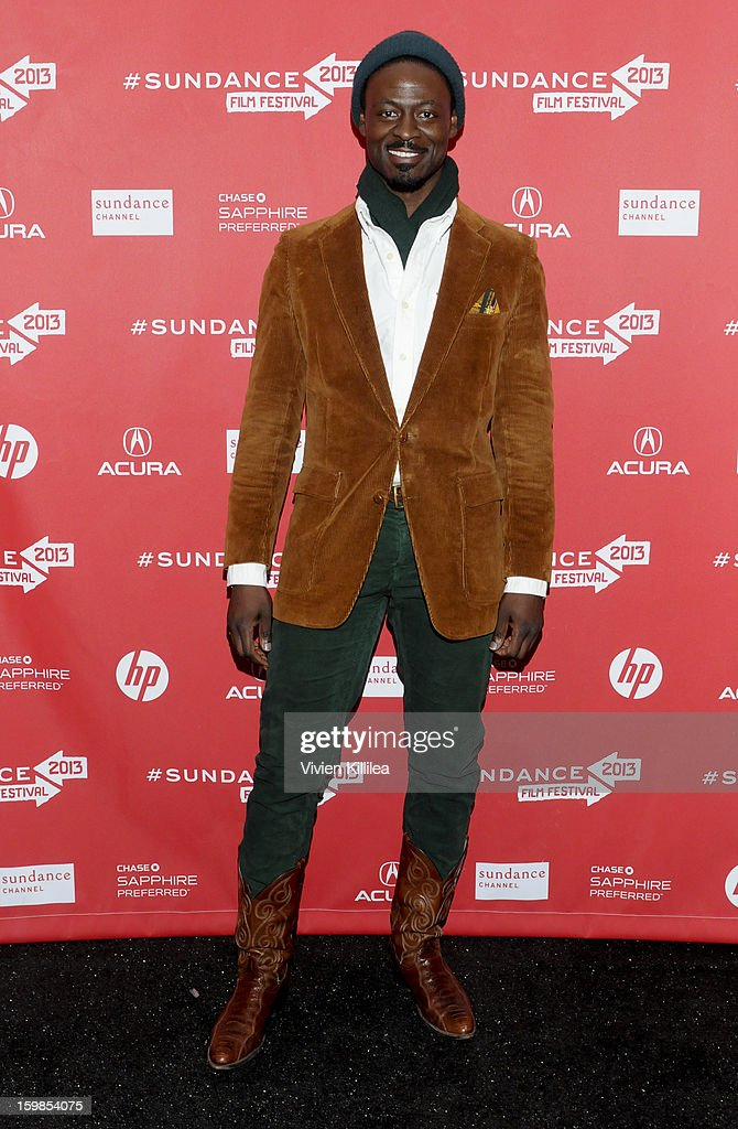 Actor Tishuan Scott attends 'Computer Chess' Premiere - 2013 Sundance Film Festival at Library Center Theater on January 21, 2013 in Park City, Utah.