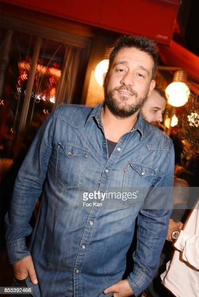 Actor Titoff attends the 'Apero Gouter' Cocktail Hosted by Le Grand Seigneur Magazine at Bistrot Marguerite on September 28 2017 in Paris France