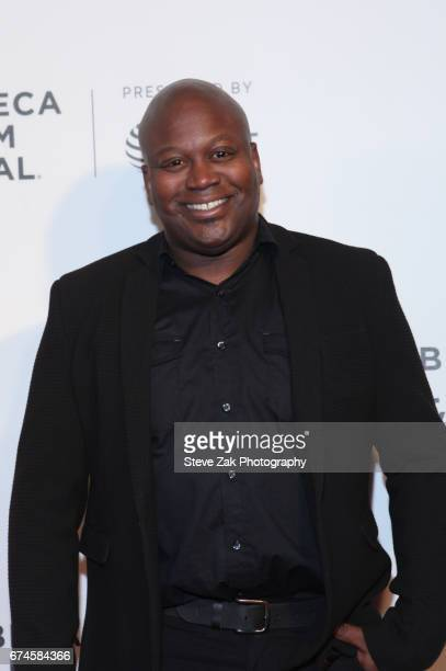 Actor Titus Burgess attends the 'Unbreakable Kimmy Schmidt' screening during the 2017 Tribeca Film Festival at BMCC Tribeca PAC on April 28 2017 in...