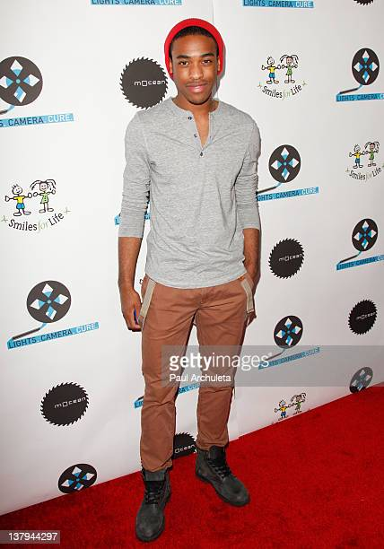 Actor Titus Makin Jr attends the 'Lights Camera Cure 2012 Hollywood DanceAThon' at Avalon on January 29 2012 in Hollywood California