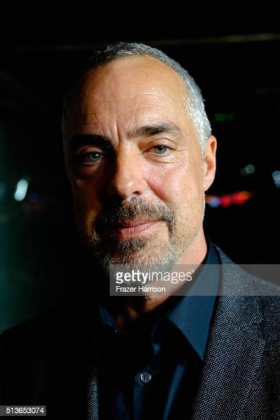 Actor Titus Welliver arrives at the Premiere Of Amazon's 'Bosch' Season 2 at SilverScreen Theater at the Pacific Design Center on March 3 2016 in...