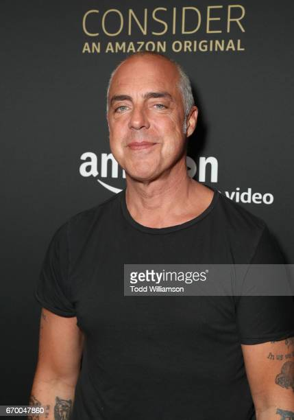 Actor Titus Welliver attends the Amazon Original Series 'Bosch' Emmy FYC screening and panel at the Hollywood Athletic Club on April 18 2017 in...