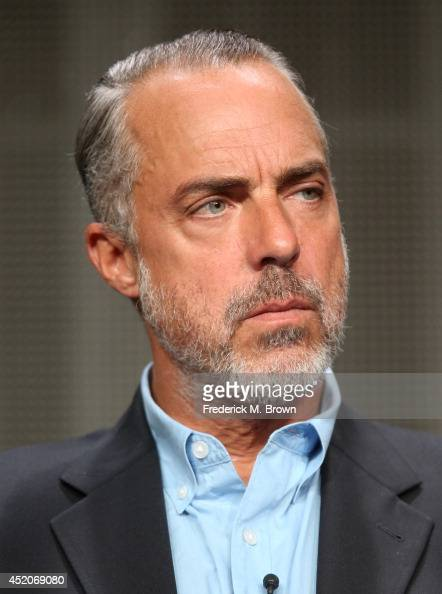 Bosch television show stock photos and pictures getty images for Titus welliver tattoos