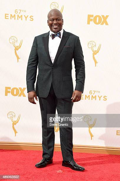 Actor Tituss Burgess attends the 67th Annual Primetime Emmy Awards at Microsoft Theater on September 20 2015 in Los Angeles California