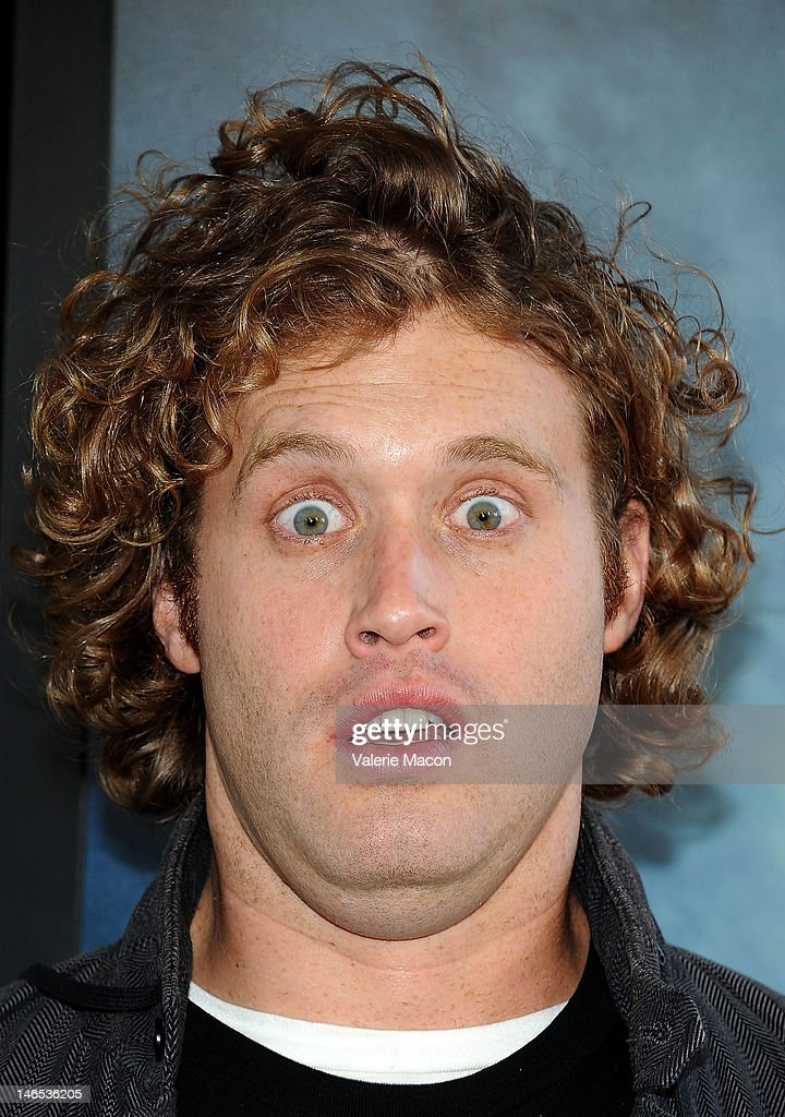 Actor TJ Miller arrives at Film Independent's 2012 Los Angeles Film Festival premiere of Focus Features' 'Seeking A Friend For The End Of The World' at Regal Cinemas L.A. Live on June 18, 2012 in Los Angeles, California.