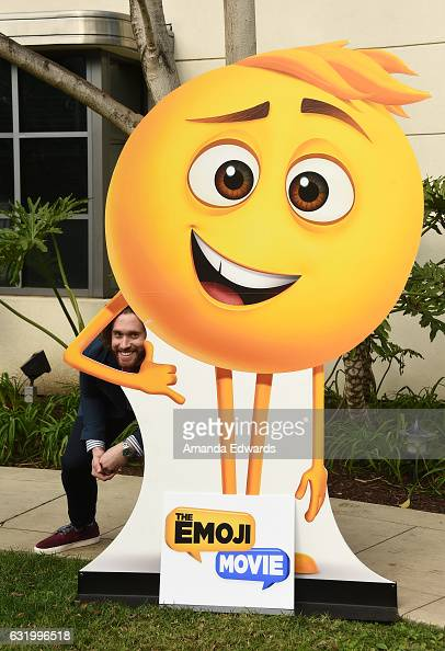 Actor TJ Miller attends the photo call for Columbia Pictures' 'The Emoji Movie' at Sony Pictures Studios on January 18 2017 in Culver City California