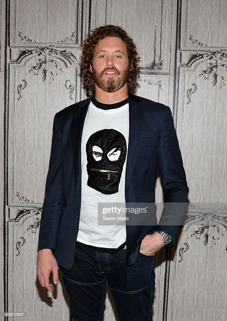 Actor TJ Miller visits AOL Build Speaker Series to discuss his new film 'Deadpool' at AOL Studios In New York on February 9, 2016 in New York City.