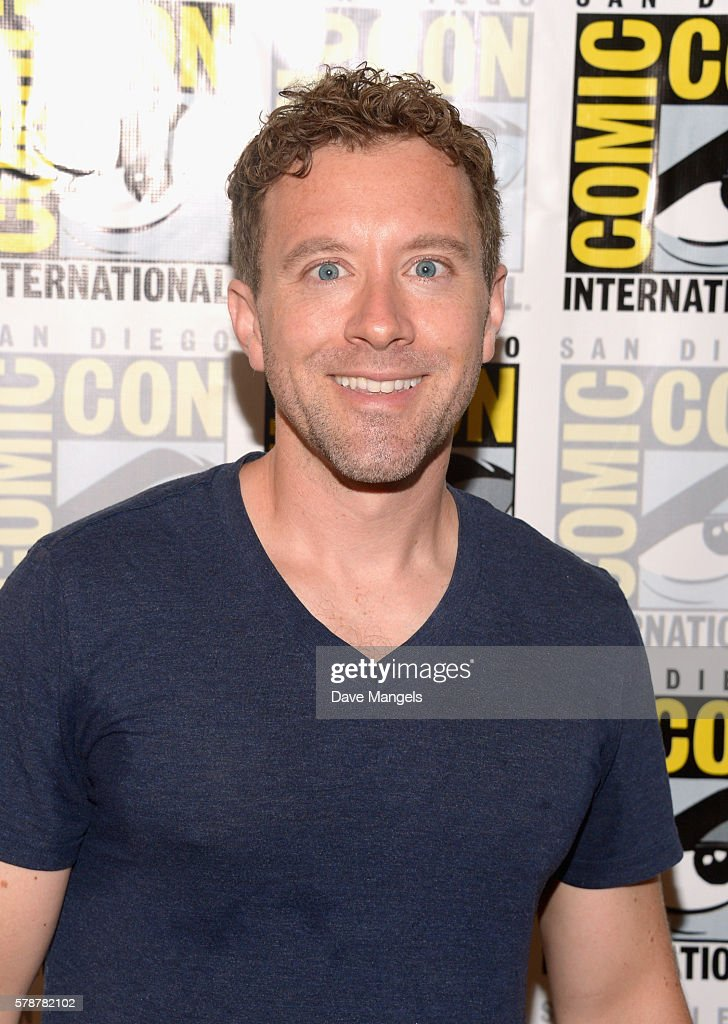 Actor T.J. Thyne attends Comic-Con International 2016 'Bones' press line at Hilton Bayfront on July 22, 2016 in San Diego, California.