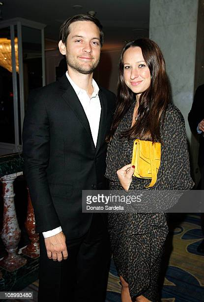Actor Tobey Maguire and designer Jennifer Meyer arrive at the 14th annual Unforgettable Evening benefiting EIF's WCRF held at Beverly Wilshire Four...