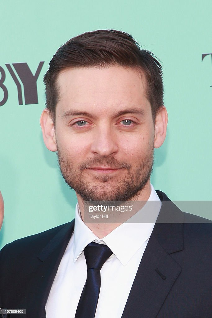 Actor <a gi-track='captionPersonalityLinkClicked' href=/galleries/search?phrase=Tobey+Maguire&family=editorial&specificpeople=203015 ng-click='$event.stopPropagation()'>Tobey Maguire</a> attends 'The Great Gatsby' world premiere at Alice Tully Hall at Lincoln Center on May 1, 2013 in New York City.