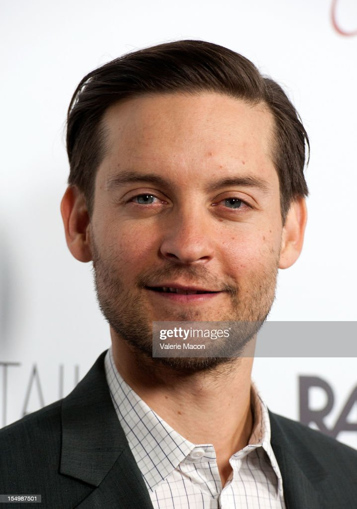 Actor Tobey Maguire attends The Premiere Of RADiUS-TWC's 'The Details' at ArcLight Cinemas on October 29, 2012 in Hollywood, California.