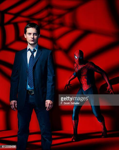 Tobey Maguire plays Peter Parker and his alterego SpiderMan in the sequel SpiderMan 2
