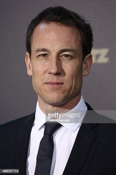 Actor Tobias Menzies attends the 'Outlander' midseason New York premiere at Ziegfeld Theater on April 1 2015 in New York City