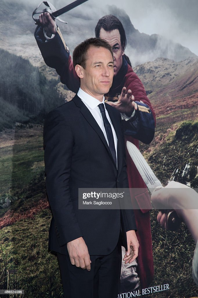 Actor Tobias Menzies attends the 'Outlander' Mid-Season Premiere at the Ziegfeld Theater on April 1, 2015 in New York City.