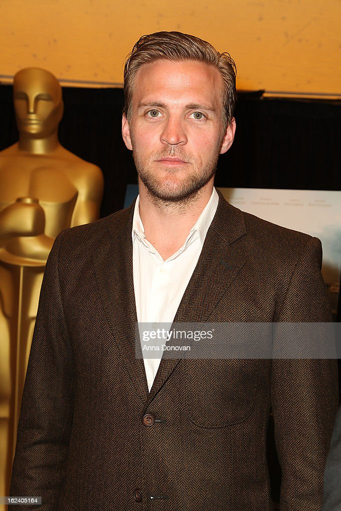 Actor Tobias Santelmann of the film 'Kon-Tiki' attends the 85th annual Academy Awards Foreign Language Film Award photo-op held at the Dolby Theatre on February 22, 2013 in Hollywood, California.