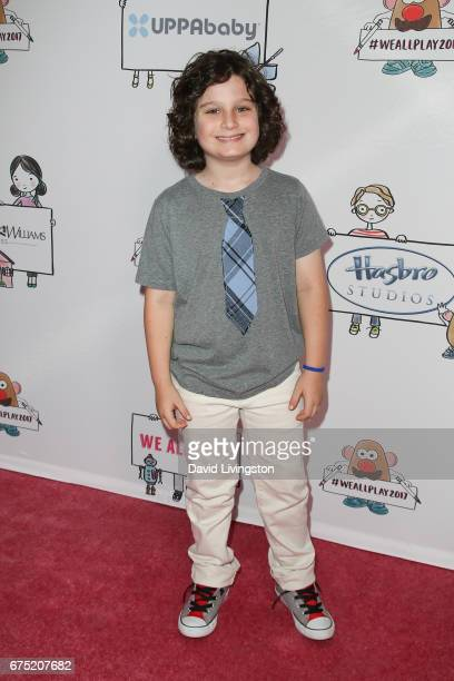 Actor Toby Grey attends the WE ALL PLAY FUNdraiser hosted by the Zimmer Children's Museum at the Zimmer Children's Museum on April 30 2017 in Los...