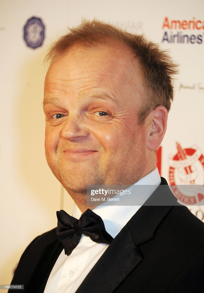 Actor Toby Jones, winner of the British Actor of the Year award, poses in the press room at The London Critics Circle Film Awards at the May Fair Hotel on January 20, 2013 in London, England.