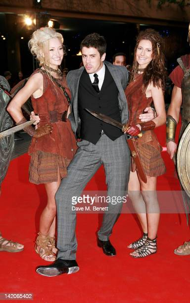 Actor Toby Kebbell arrives at the European Premiere of 'Wrath Of The Titans' at BFI Imax on March 29 2012 in London England