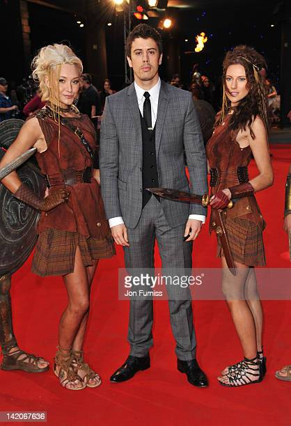 Actor Toby Kebbell attends the 'Wrath Of The Titans' European premiere at BFI IMAX on March 29 2012 in London England