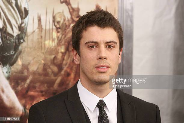 Actor Toby Kebbell attends the 'Wrath of the Titans' premiere at the AMC Lincoln Square Theater on March 26 2012 in New York City