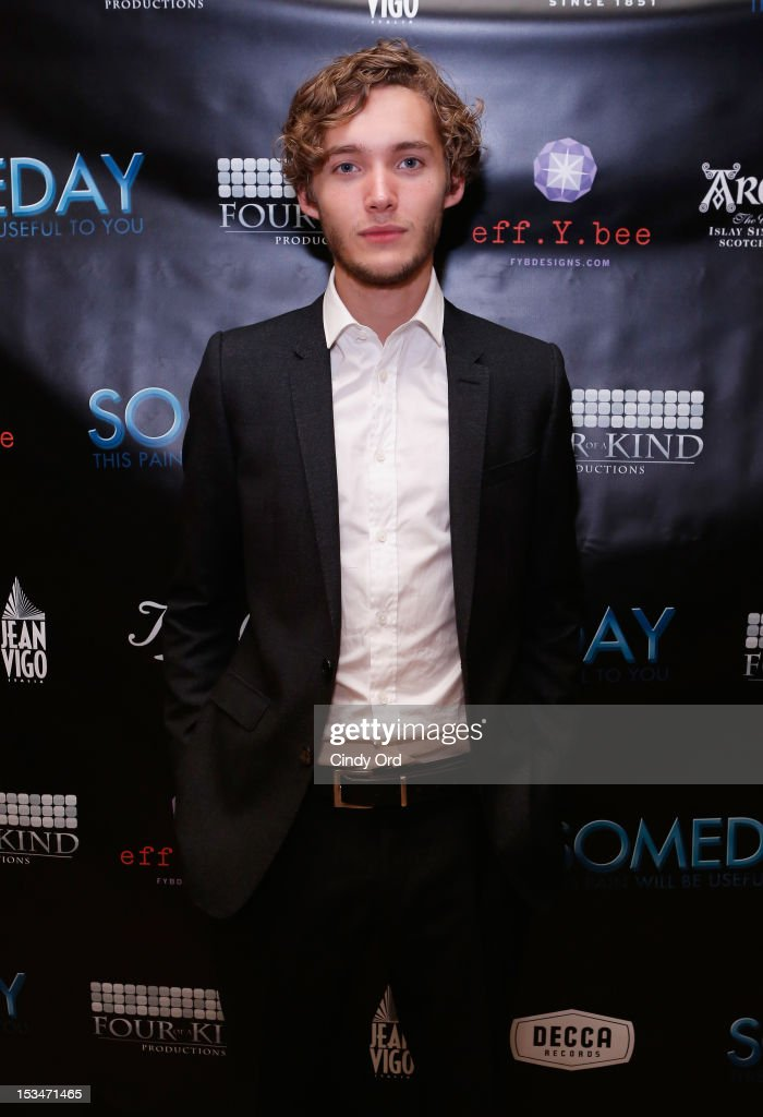 Actor Toby Regbo attends the 'Someday This Pain Will Be Useful To You' New York Screening after party at Kiehl's Since 1851 Flagship Store on October 5, 2012 in New York City.