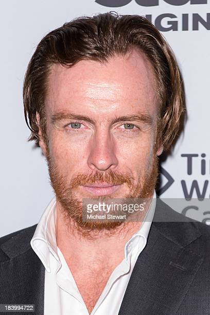 Actor Toby Stephens attends STARZ Networks Series 'Da Vinci's Demons' and 'Black Sails' Sleep No More Experience at The McKittrick Hotel on October...