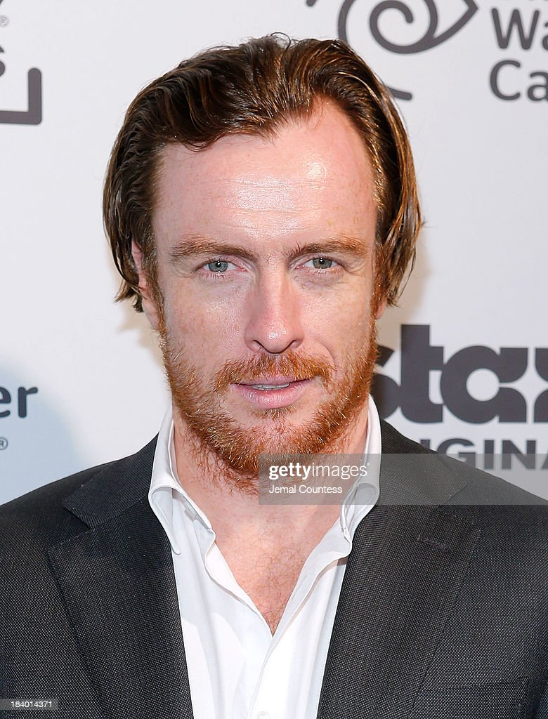 Actor <a gi-track='captionPersonalityLinkClicked' href=/galleries/search?phrase=Toby+Stephens&family=editorial&specificpeople=806801 ng-click='$event.stopPropagation()'>Toby Stephens</a> of the show 'Black Sails' attends the Starz Sleep No More Event at The McKittrick Hotel on October 10, 2013 in New York City.