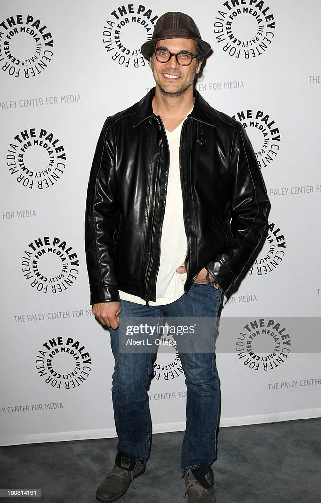 Actor <a gi-track='captionPersonalityLinkClicked' href=/galleries/search?phrase=Todd+Stashwick&family=editorial&specificpeople=2969060 ng-click='$event.stopPropagation()'>Todd Stashwick</a> arrives for The Paley Center for Media & Warner Bros. Home Entertainment Premiere of 'Batman: The Dark Knight Returns, Part 2' held at The Paley Center for Media on January 28, 2013 in Beverly Hills, California.