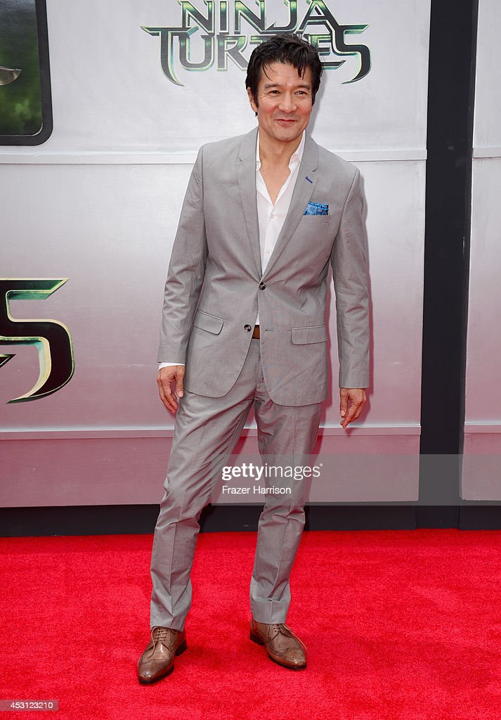 Actor Tohoru Masamune attends Paramount Pictures' 'Teenage Mutant Ninja Turtles' premiere at Regency Village Theatre on August 3, 2014 in Westwood, California.