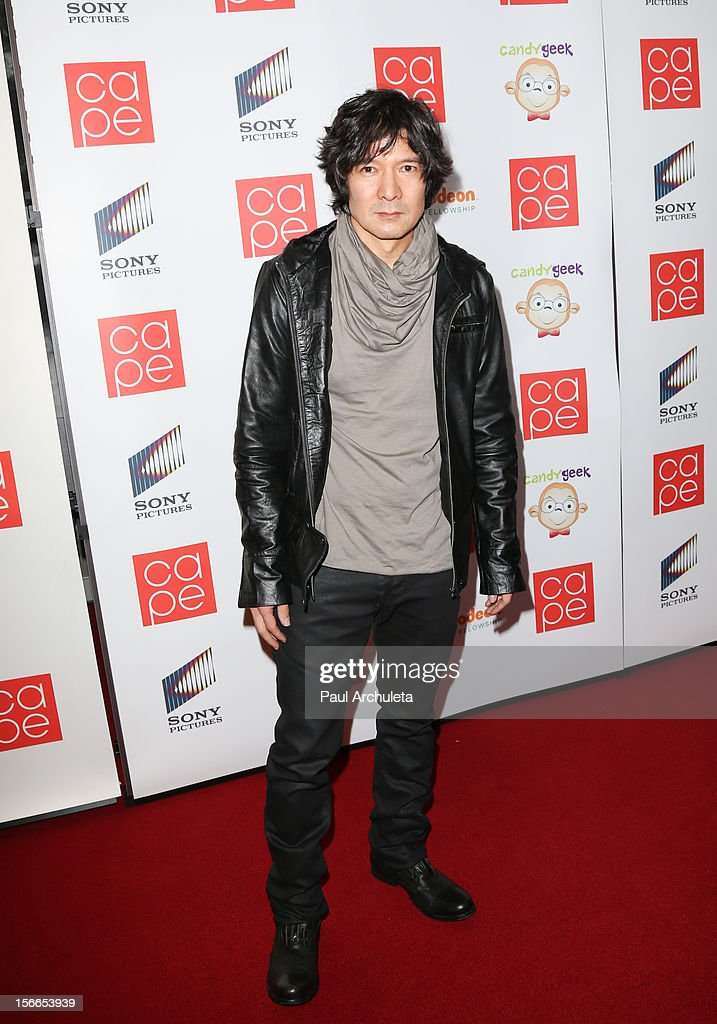 Actor Tohoru Masamune attends the 2012 CAPE Holiday Fundraiser 'I Am...All In' at the W Hollywood on November 17, 2012 in Hollywood, California.
